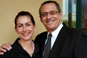 Dr. Francisco Canales and Dr. Heather Furnas